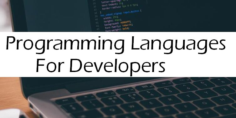 What programming languages are essential for web developers?