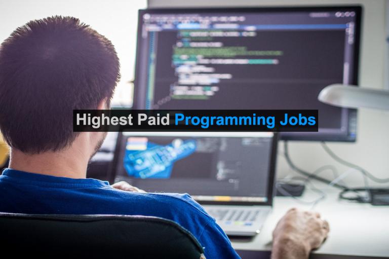 Top 8 Highest paid programming jobs