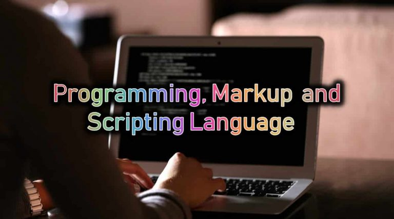 Programming, Markup and Scripting Languages | What is the Difference?