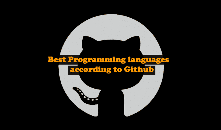 Best Programming languages according to Github