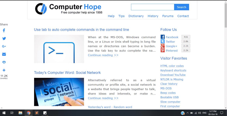 computer hope