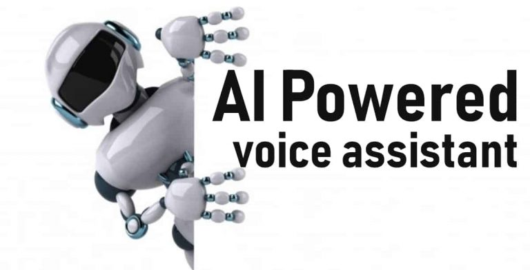 Build your own AI powered voice assistant