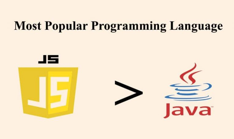 JavaScript Outdoes Java As The Most Popular Programming Language