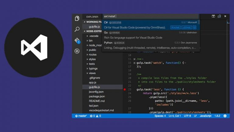 Microsoft Makes Visual Studio Code Now Available As A Snap