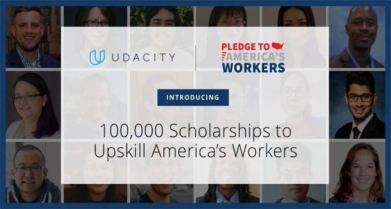 Udacity offering 100,000 free programming courses as part of their 'Pledge to America's Workers' initiative