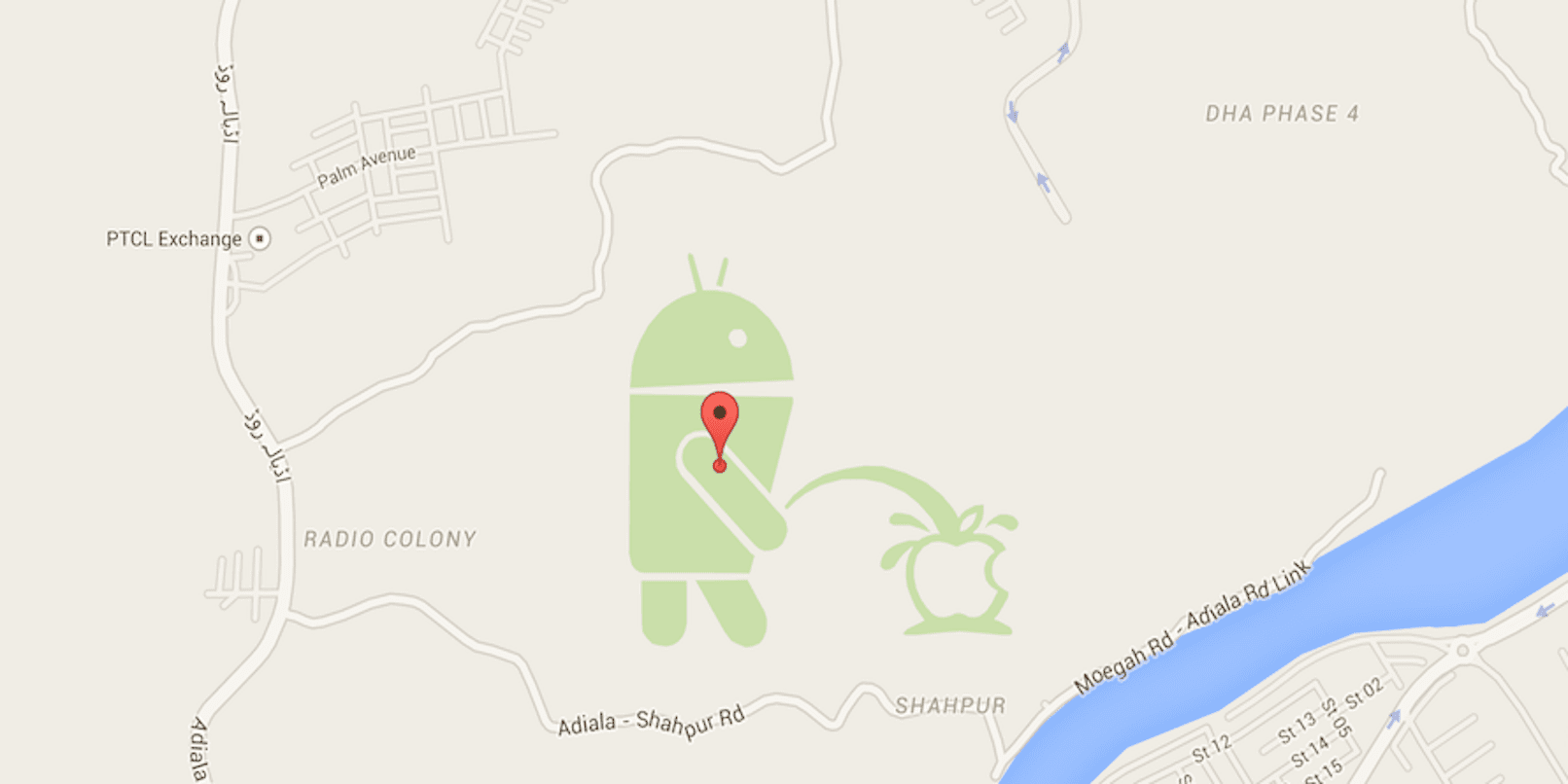 When Android Was Spotted Peeing On Apple !!! » TechWorm